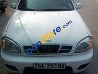 Bán ô tô Daewoo Lanos đời 2003, màu trắng số sàn