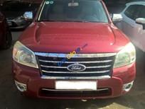 Cần bán Ford Everest AT 2009, màu đỏ còn mới, 600tr