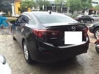 Cần bán Mazda 3 đời 2015, màu đen, chính chủ