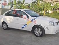 Cần bán xe Daewoo Lacetti EX đời 2005, màu trắng chính chủ