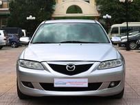 Bán xe Mazda 6 2003, màu bạc  289 triệu