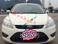 Bán xe Ford Focus 1.8AT đời 2011, màu trắng, 490 triệu