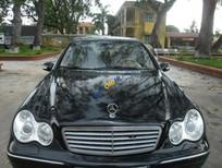 Bán Mercedes C200 đời 2003, màu đen, giá chỉ 260 triệu