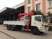 Xe tải Hino FG 9.4 tấn gắn cẩu Unic 3 tấn 3 khúc 4 khúc 5 khúc