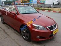 Bán Lexus IS 250C đời 2010, màu đỏ, nhập khẩu chính hãng như mới