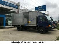 Bán xe tải nhập khẩu thùng kín HD72 Đồng Vàng nâng tải 6,85 tấn, lô mới nhất, giá cạnh tranh