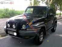 Bán ô tô Ssangyong Korando TX5 2004, màu đen, xe nhập