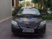 Cần bán lại xe Toyota Corolla altis 1.8MT đời 2008, màu đen