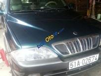 Cần bán Ssangyong Musso đời 2004, màu xanh lam, xe nhập, giá 230tr