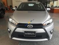 Toyota Yaris 1.5E CVT đời 2016, màu bạc, nhập khẩu chính hãng từ Thái Lan