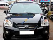 Cần bán gấp Kia Carens SX 2.0AT đời 2010, màu đen số tự động