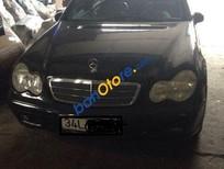 Cần bán gấp Mercedes C180 đời 2003, màu đen, xe nhập