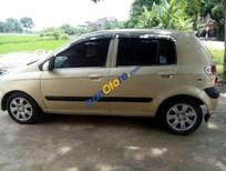 Bán Hyundai Getz đời 2008, màu ghi vàng