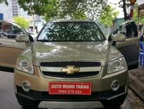 Cần bán Chevrolet Captiva LTZ 2008, màu vàng