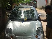 Cần bán lại xe Daewoo Matiz đời 2007, màu bạc xe gia đình