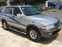 Bán ô tô Ssangyong Musso GT đời 2004, màu bạc chính chủ