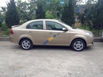 Bán Chevrolet Aveo 1.5 AT đời 2016, màu vàng, giá tốt