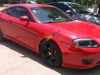 Bán xe cũ Hyundai Tuscani đời 2005, màu đỏ, xe nhập, giá 330tr