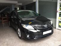 Bán xe cũ Toyota Corolla Altis 1.8MT đời 2012, màu đen giá cạnh tranh