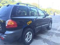 Bán Hyundai Santa Fe Gold đời 2003, màu đen ít sử dụng