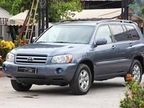 Cần bán lại xe Toyota Highlander full đời 2006, màu xanh lam, nhập khẩu nguyên chiếc, giá tốt