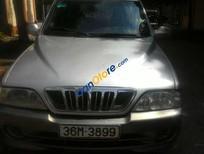 Cần bán Ssangyong Musso đời 2003, màu bạc, xe nhập giá cạnh tranh
