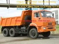 Bán Ben KAMAZ 65111, 14 tấn, 3 chân, 3 cầu sau,280 mã lực, 32 lít/100km, nhập khẩu, mới