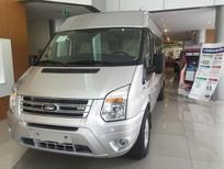 Cần bán Ford Transit Luxury ( cao cấp) màu bạc, giá tốt nhất thị trường