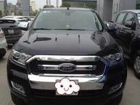 Bán Ford Ranger XLT 4 x4 2015, màu đen, nhập khẩu