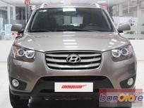 Bán ô tô Hyundai Santa Fe SLX 2.0 AT đời 2009, màu nâu, nhập khẩu chính hãng, số tự động, 824tr