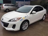 Cần bán Mazda 3 1.6AT 2014, màu trắng, 659 triệu