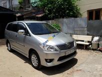 Bán Toyota Innova 2.0E cũ đời 2013/2014, màu bạc số sàn - 0972200536