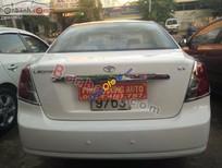 Bán xe cũ Daewoo Lacetti EX sản xuất 2004, màu trắng chính chủ, giá 250tr