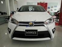 Bán Toyota Yaris G 2016, màu trắng, nhập khẩu nguyên chiếc, 655tr