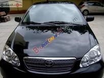 Bán Toyota Corolla altis 1.8G đời 2005, màu đen