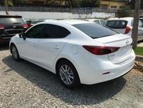 Cần bán Mazda 3 AT 2.0 đời 2016, màu trắng, 705 triệu