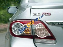 Bán Toyota Corolla đời 2012, màu bạc chính chủ, giá 745tr