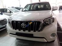Toyota Land Cruiser Prado màu trắng 2016 giao ngay