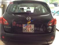 Cần bán xe cũ Nissan Qashqai LE AWD 2008, màu đen, nhập khẩu, giá tốt