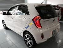 Bán ô tô Kia Morning S đời 2014, màu trắng số tự động, 380 triệu