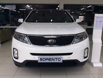 Bán ô tô Kia Sorento GAT đời 2016, màu trắng