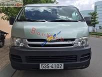 Cần bán Toyota Hiace đời 2009, màu xanh lam xe gia đình