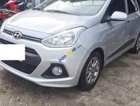 Bán Hyundai i10 1.0 AT đời 2014, màu bạc, xe nhập