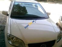 Cần bán Toyota Vios đời 2006, màu trắng giá cạnh tranh