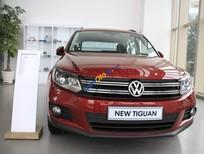 Cần bán Volkswagen Tiguan 2.0 TSI đời 2016, màu đỏ, nhập khẩu nguyên chiếc