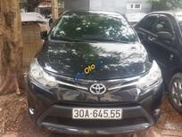 Cần bán xe Toyota Vios J đời 2015, màu đen chính chủ, giá tốt