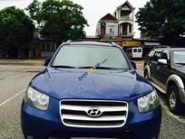 Cần bán xe Hyundai Santa Fe đời 2007, màu xanh lam đẹp như mới