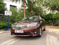 Cần bán gấp Toyota Corolla altis 1.8AT sản xuất 2015, màu nâu, ít sử dụng giá cạnh tranh