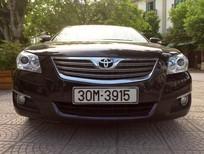 Bán Camry 2.4G đăng kí và sử dụng cuối 2008, màu đen, 1 chủ từ đầu, xe đẹp không có va chạm, nguyên bản 100%.
