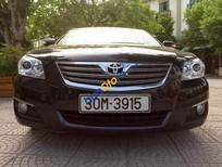 Bán Camry 2.4G đăng kí và sử dụng cuối 2008, màu đen, 1 chủ từ đầu, xe đẹp không có va chạm, nguyên bản 100%